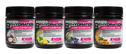 Endura Rehydration Low Carb Fuel (32 Doses)