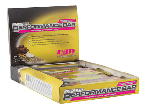 Endura Performance Bar (box of 10 x 60g)
